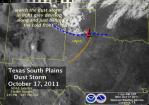 Lubbick Texas duststorm October 17 2011